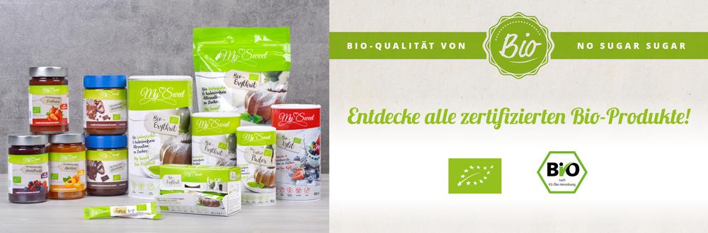 Bio-Produkte bei No Sugar Sugar