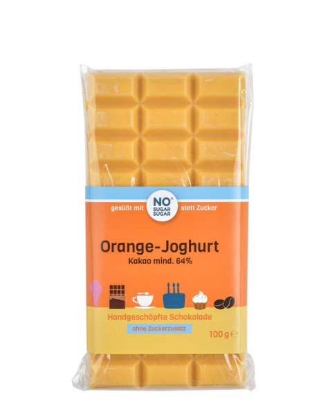 Orange-Joghurt Schokolade, 100g