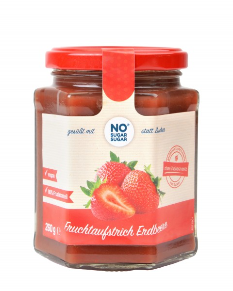 Fruchtaufstrich Erdbeere, 260g