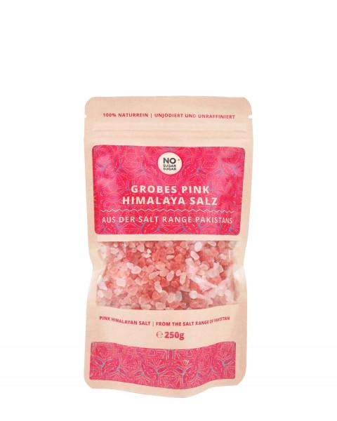 Pink Himalaya Salz, grobe Körnung, 250g