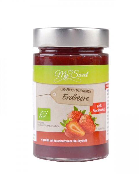 My Sweet Bio-Fruchtaufstrich Erdbeere, 225g