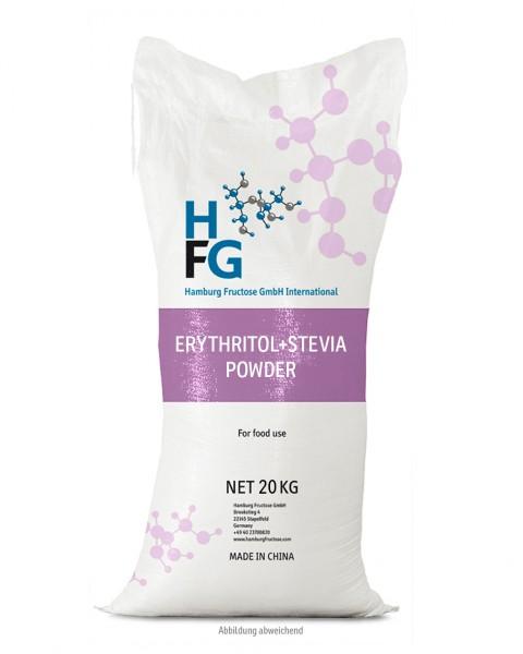 Erythrit+Stevia Puder, 20 kg