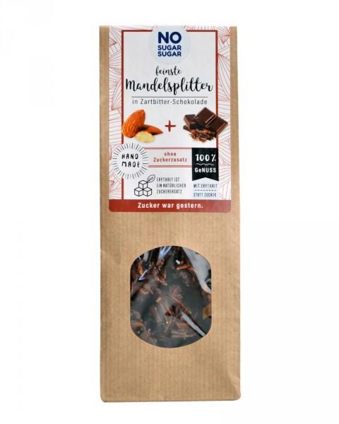 Mandelsplitter in Zartbitterschokolade