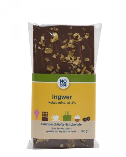 Ingwer Schokolade