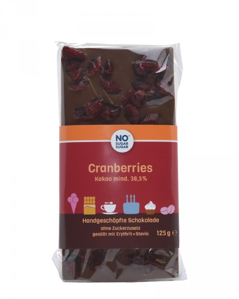 Cranberries Schokolade
