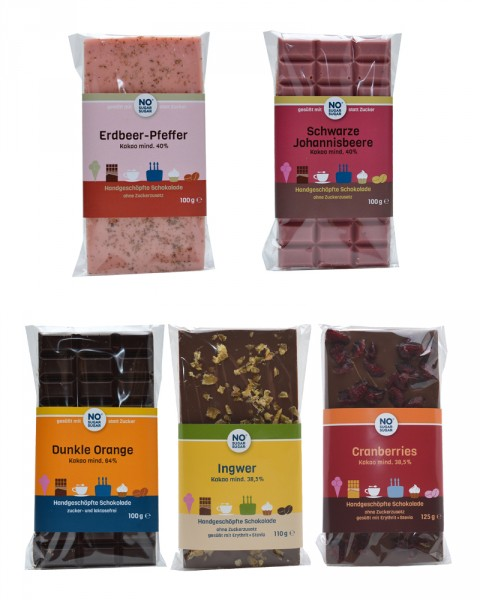 Schokoladenset: Fruchtig-Würzig