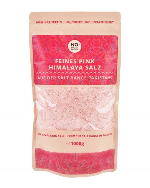 Pink Himalaya Salz, feine Körnung, 1 kg